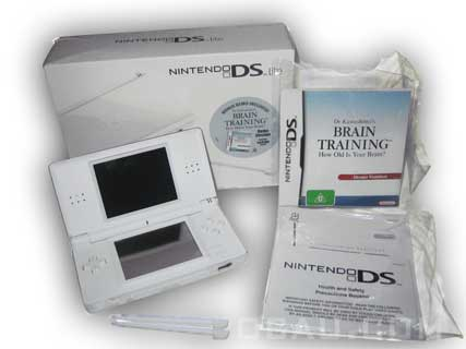DS Lite package contents